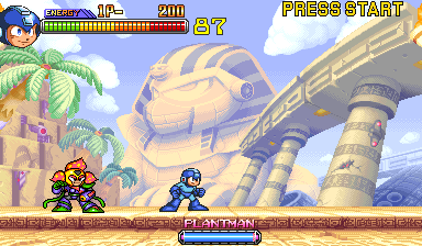 Mega Man 2 : The Power Fighters ingame screenshot