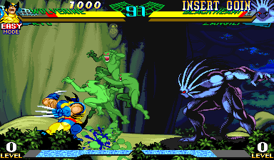 Marvel Super Heroes Vs. Street Fighter ingame screenshot