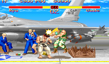 Super Street Fighter II : The New Challengers ingame screenshot