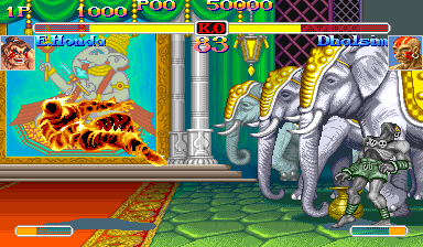 Super Street Fighter II Turbo ingame screenshot