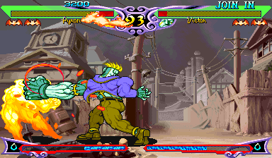 Vampire Hunter 2 : Darkstalkers Revenge ingame screenshot