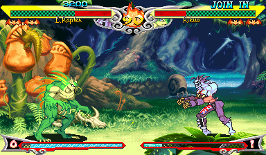 Vampire Savior : The Lord of Vampire ingame screenshot