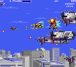 Air Buster : Trouble Specialty Raid Unit ingame screenshot