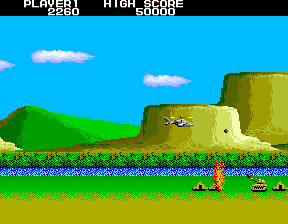 Airwolf ingame screenshot