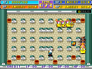 Bomber Man World ingame screenshot