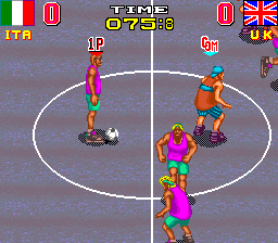 Back Street Soccer ingame screenshot
