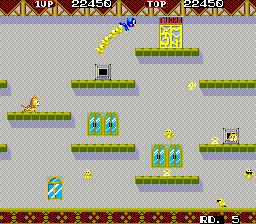 Flicky ingame screenshot
