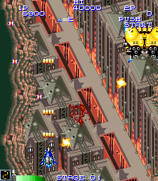 Final Star Force ingame screenshot