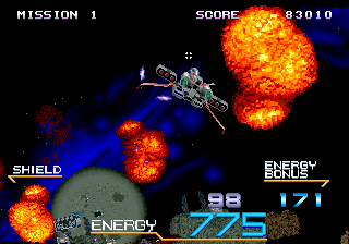 Galaxy Force 2 ingame screenshot