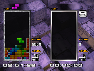 Tetris the Absolute The Grand Master 2 ingame screenshot