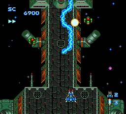 Blazing Lazers ingame screenshot