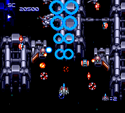 Super Star Soldier ingame screenshot