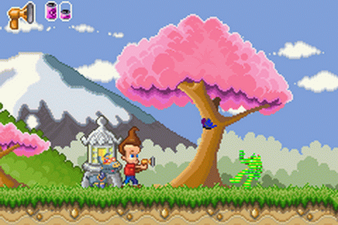 Adventures of Jimmy Neutron Boy Genius, The - Jet Fusion ingame screenshot