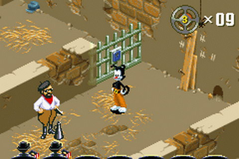 Animaniacs - Lights, Camera, Action! ingame screenshot