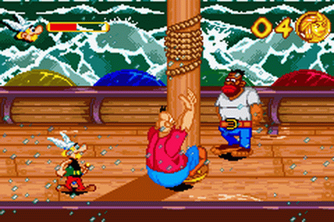 Asterix & Obelix - Bash Them All! ingame screenshot
