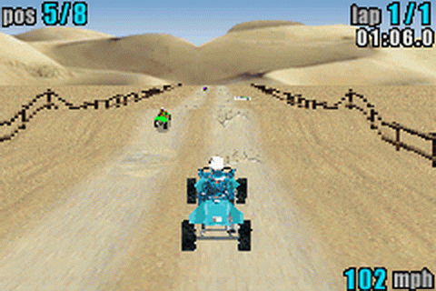 ATV - Quad Power Racing ingame screenshot