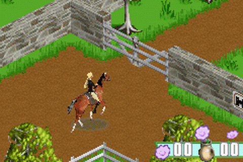 Barbie Horse Adventures - Blue Ribbon Race ingame screenshot