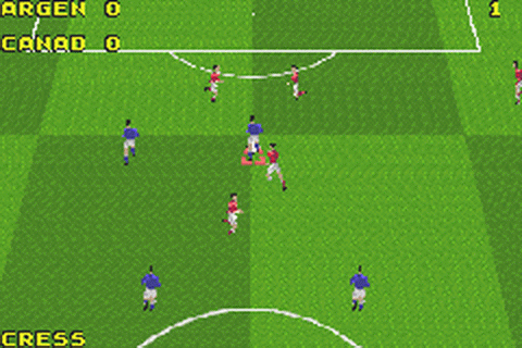 David Beckham Soccer ingame screenshot