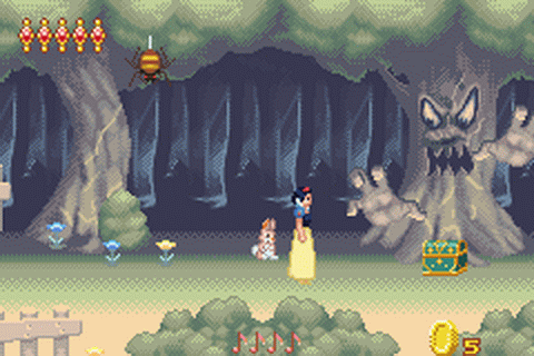 Disney Princess ingame screenshot