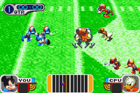 Disney Sports - Football ingame screenshot