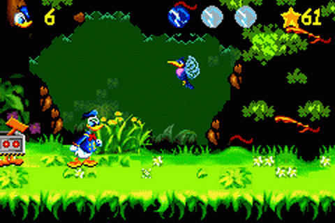 Donald Duck Advance ingame screenshot