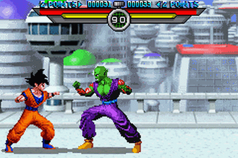 Dragon Ball Z - Taiketsu ingame screenshot