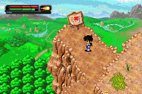 Dragon Ball Z - The Legacy of Goku II ingame screenshot