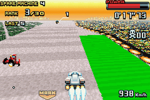 F-Zero - GP Legend ingame screenshot