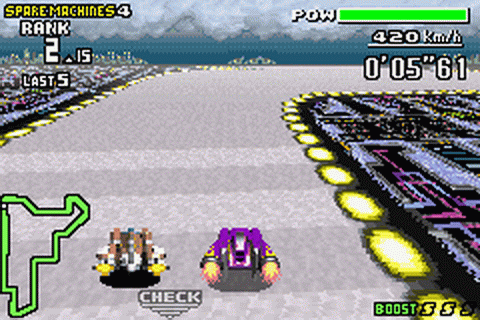 F-Zero - Maximum Velocity ingame screenshot