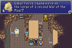 Final Fantasy VI Advance ingame screenshot
