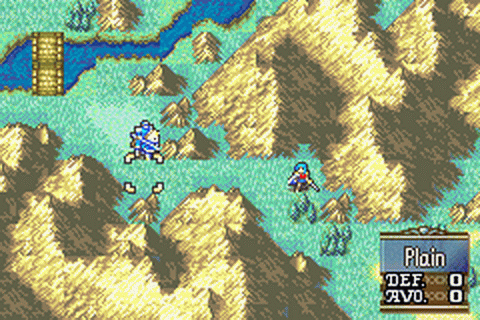 Fire Emblem - The Sacred Stones ingame screenshot