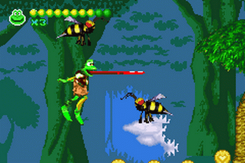 Frogger Advance - The Great Quest ingame screenshot
