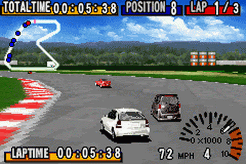 GT Advance - Championship Racing ingame screenshot