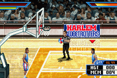 Harlem Globetrotters - World Tour ingame screenshot
