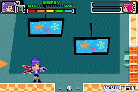 Hi Hi Puffy AmiYumi - Kaznapped! ingame screenshot