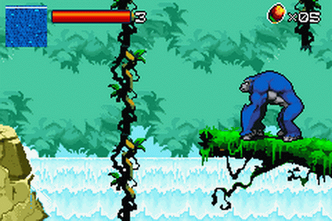 Kong - The Animated Series ingame screenshot