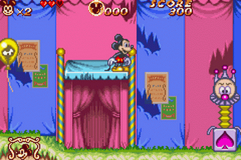 Magical Quest 2 Starring Mickey & Minnie ingame screenshot