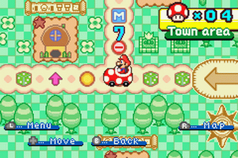 Mario Party Advance ingame screenshot