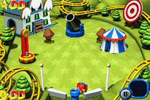 Mario Pinball Land ingame screenshot
