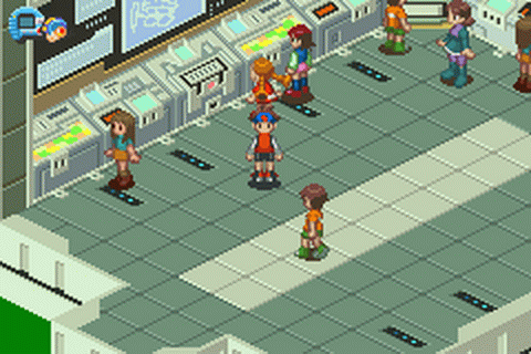 Mega Man Battle Network 3 - Blue Version ingame screenshot
