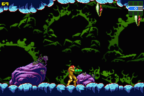 Metroid - Zero Mission ingame screenshot
