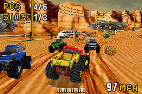 Monster Truck Madness ingame screenshot