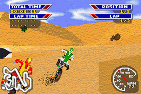 MX 2002 featuring Ricky Carmichael ingame screenshot