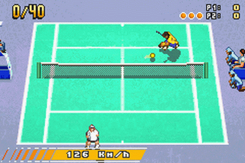 Next Generation Tennis ingame screenshot