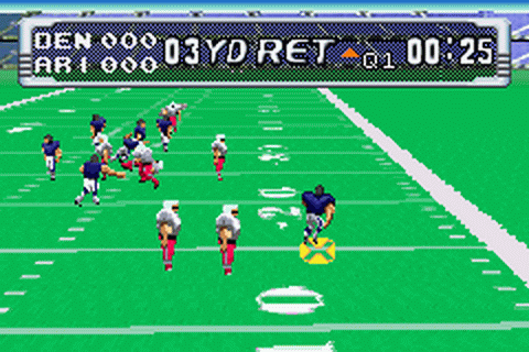 NFL Blitz 20-03 ingame screenshot