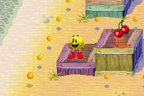 Pac-Man World ingame screenshot