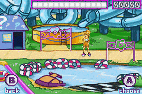 Polly Pocket! - Super Splash Island ingame screenshot