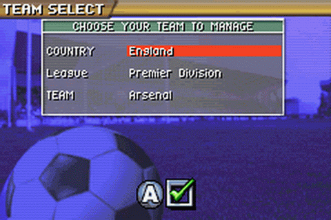 Premier Manager 2004-2005 ingame screenshot