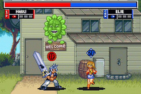 Rave Master - Special Attack Force! ingame screenshot