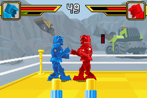 Rock'em Sock'em Robots ingame screenshot
